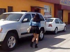 Candid Latina Teen 0107