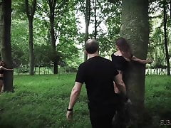 Three teen slaves punished and...