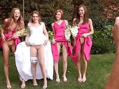Wedding pussy show time