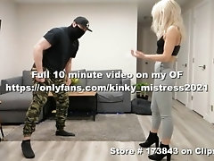 Romanian Girl Ballbusting