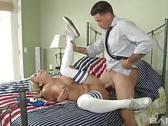 Teen Babysitter Madelyn Gets Anal