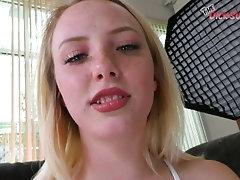 Blonde Teenager DIXIE LYNN tells...