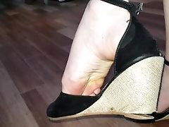 Brincando com os sapatos