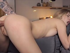 Amateur Couple Tries Anal and...