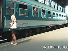 sex on public train