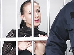 LAW4k. Hot whore is busted with...