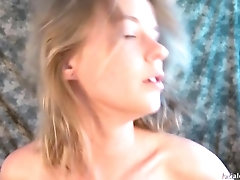 Former nude model tries porn and...