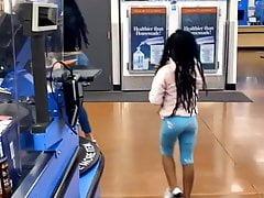 Fine ass momma in Walmart