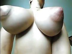 Huge suckable and lickable nipples