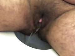 Ftm trans guy takes a warm piss