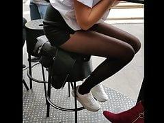 Black pantyhose teens