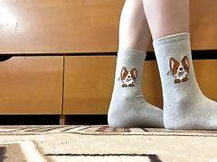 My feet and cute socks