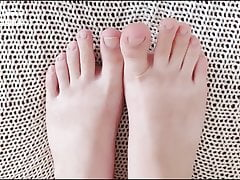 Close up View for my Sexy Toes...